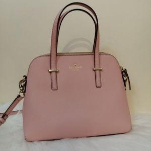 Kate Spade Pink Leather Maise Crossbody Purse